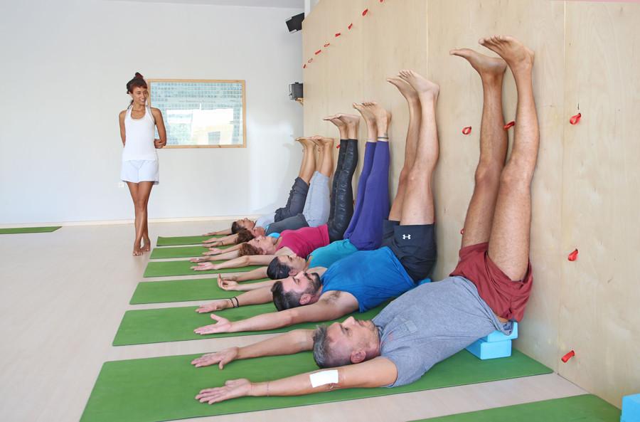 Yoga class Chania in Crete, Greece