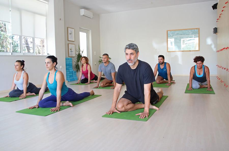 Vinyasa Yoga at Yoga class Chania in Crete, Greece