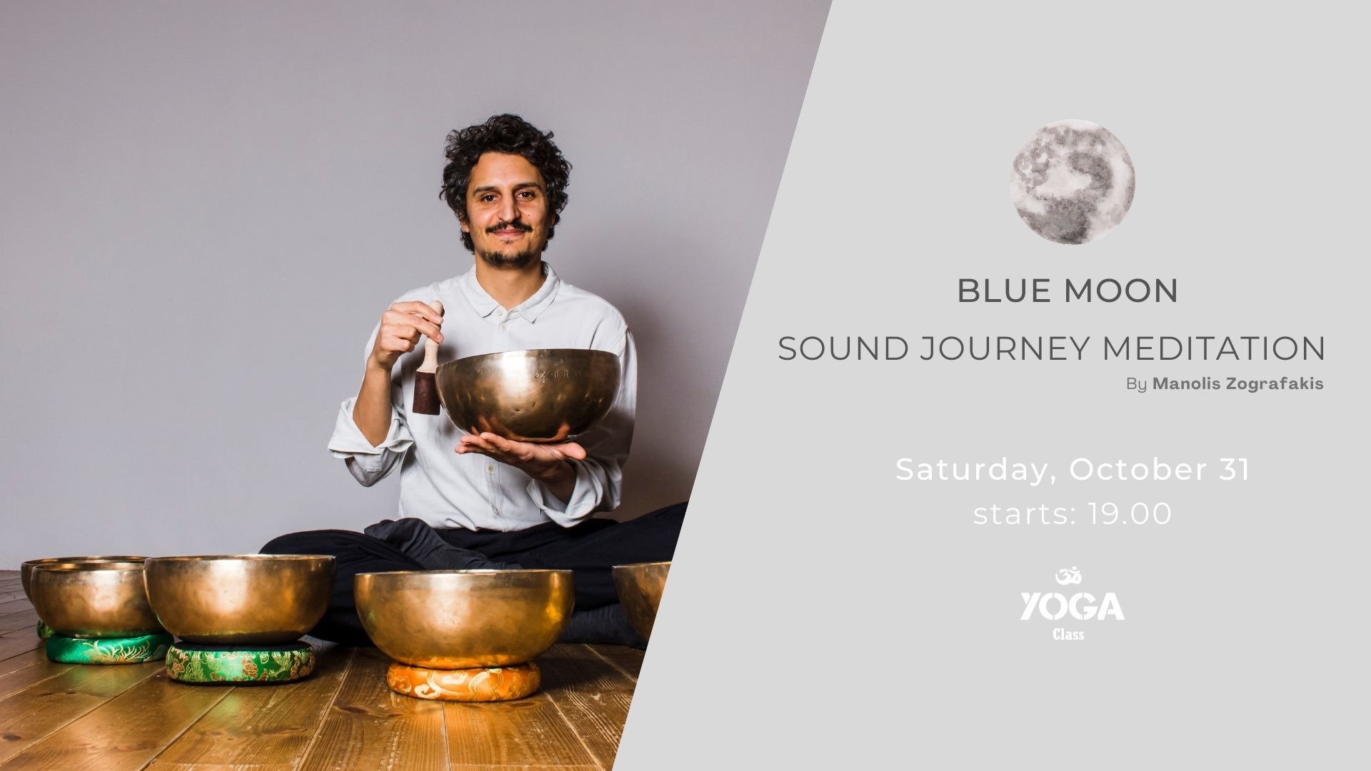 Sound Journey Meditation by Manolis Zografakis – Oct 31, 2020