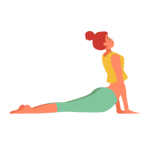 Yoga Illustration - Yoga Class Chania